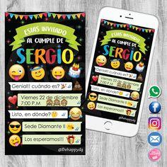 Be Happy Dg: Tarjetas de invitación, invitación,  Tarjetas de invitación emoticones, Tarjetas de invitación Bucaramanga, tarjetas de invitación, cumpleaños, fiesta infantil, emoticones, emoji, cumpleaños emoji, cumpleaños emoticones, Tarjetas de invitación Colombia, Baby Shower, Bautizo, Primera comunión, Tarjeta de invitación Digital, Invitación Digital.
