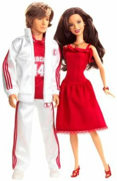 Mattel High School Musical Gabriella & Troy 2-Pack by Mattel. $36.95. High School Musical's Gabriella and Troy sing Breaking Free as a duet. Each doll plays song clip from the movie and looks like the character. Includes 2 dolls with removable outfits, 2 stages, and 6 AG13 batteries. Ideal for ages 8 to 12. Posable limbs; outfits from hit musical. Amazon.com                  .caption { font-family: Verdana, Helvetica neue, Arial, serif; font-size: 10px; font-wei...