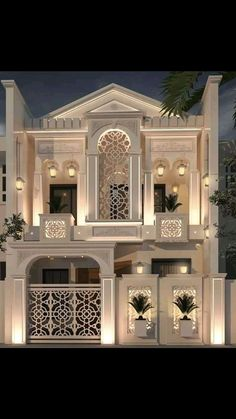 3 Storey House Design, House Roof Design, House Outside Design, Home Building Design, Bungalow House Design, Classic House Exterior, Classic House Design, Modern Exterior House Designs, Dream House Exterior