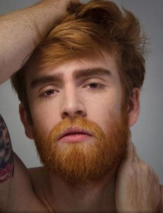 Boys and men I like. Beards, smooth and hairy chests, hairy legs, kisses and blowjobs. Hot Ginger Men, Ginger Beard, Beard Styles For Men, Hair And Beard Styles, Moustaches, Hairy Men, Bearded Men, Ginger Gene, Beard Images