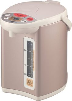 Zojirushi CD-WBC30 Micom Electric 3-Liter Water Boiler and Warmer, Champagne Gold for $113.20