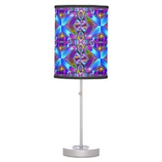 Heartfelt_ Table Lamps Custom Table Lamps & Shades. Fractal art pattern by zazzlegirboy09. Low Prices on all Lamps. http://www.zazzle.com/heartfelt_table_lamps-256564150757111496