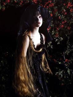 'Magnificent Excess' Gemma Ward by Mario Sorrenti Vogue Italia September 2005
