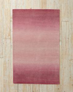 Ombré Horizon Tufted Wool Rug-Hannah's room