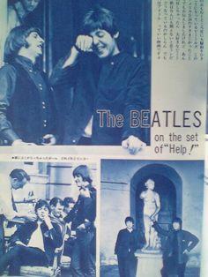 The Beatles Cheeky little John. Lol!