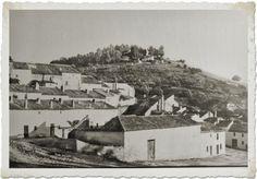 Vista del Calvario desde el barrio del Puente. Torredonjimeno