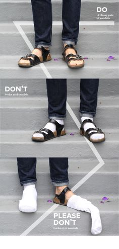 The Do's, The Don'ts, And The Oh God PLEASE Don'ts of Men's Fashion by Jessica Saia