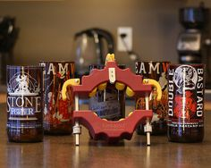 Kinkajou Bottle Cutter - make your own custom lamp shades, cups, candle holders, etc.