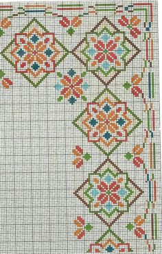 Cross Stitch Borders, Cross Stitch Rose, Cross Stitch Charts, Cross Stitch Designs, Cross Stitching, Cross Stitch Embroidery, Cross Stitch Patterns, Beaded Shoes, Chart Design