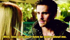 """""""Well, Love, you don't have to worry about me."""" Hook - 6 * 3 """"Rocky Road"""" #CaptainSwan"""