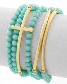 I love this cross bracelet.