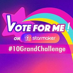 Only one centimeter away from ranking up in the $10,000 Challenge! Pls vote for me! #10GrandChallenge #StarMaker