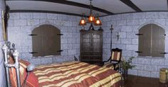 Medieval bedroom Gothic house Gothic home decor Medieval home decor