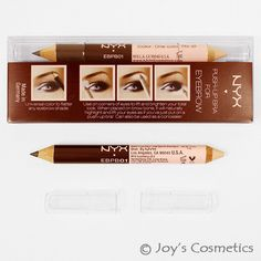 """1 Nyx Eyebrow Push-Up Bra """" Ebpb 01 """" Joy's Cosmetics Eyebrow Pencil, Eyebrow Makeup, Nyc Cosmetics, Best Eyebrow Products, Makeup Products, Natural Blush, How To Color Eyebrows, Basic Makeup"""