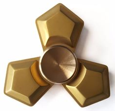 Brass Tri Spinner Fidget Hand Toy with 688ce Full Ceramic Bearing | Toys & Hobbies, Games, Other Games | eBay!