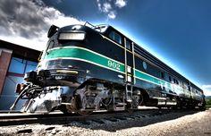 beautiful train