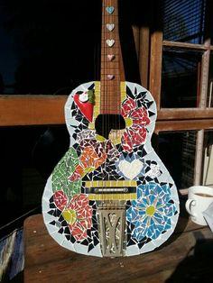 My guitar I mosaic