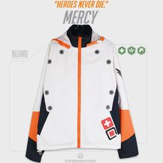 Overwatch Mercy Spring/Winter Jacket SD02157