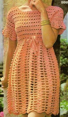 Image gallery – Page 368591550750135815 – Artofit Crochet Tunic, Crochet Clothes, Hand Crochet, Crochet Lace, Booties Crochet, Crochet Wedding Dresses, Crochet Summer Dresses, Baby Dresses, Crochet Designs