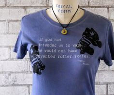 Roller Derby Tshirt Willy Wonka Quote Ladies by CausticThreads, $18.00