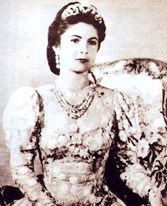 Queen Farida's Peacock Tiara And Wedding Jewellery (Egypt)