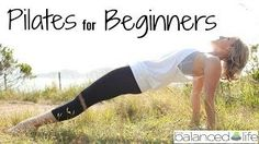 A great Pilates For Beginners series on YouTube! Free and helpful. #pilates #youtube #workout