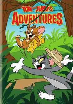 Cover image for Tom and Jerry's adventures [videorecording (DVD)]