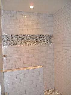 life as a Losey: One step closer..  Shower remodel. Simple and would work in my bathroom.