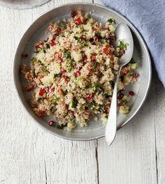 Kvinoa-taboulleh