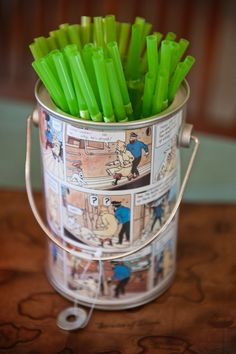 Tintin Birthday Party