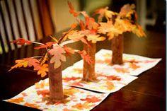Afbeeldingsresultaat voor herfst knutselwerkjes