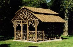 'Rumson Dining Pavilion' (12' x 16') - Built for a client in Rumson, NJ back in 2002.