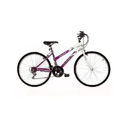 Bike USA Titan Wildcat Women's Mountain Bike - White and Teal Mountain Bikes For Sale, Mountain Bicycle, Mountain Biking, Bicycle Rims, Cross Country Trip, Steel Rims, Cool Bike Accessories, Cycling Bikes, Worlds Of Fun