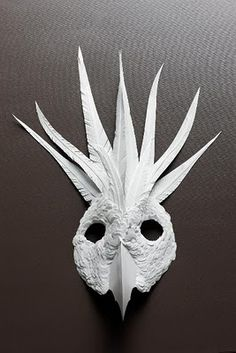 Beautiful Cut Paper Animal Masks by Flurry & Salk.