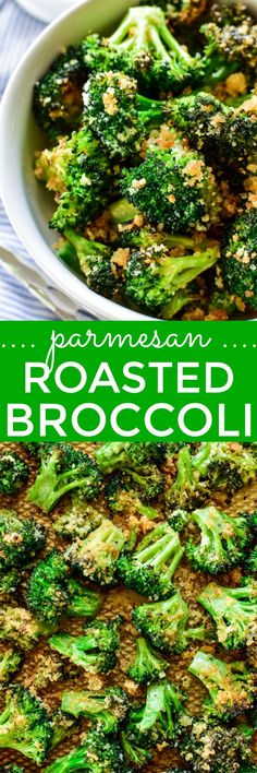Parmesan Roasted Broccoli – Lemon Tree Dwelling