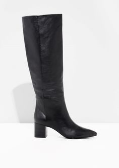 & Other Stories | Tubler Shaft Leather Boots