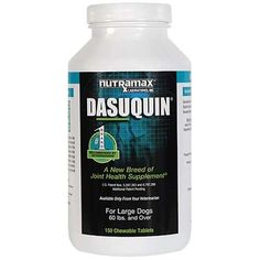 Nutramax Dasuquin for Dogs Over 60 Pounds - 150 Tablets: http://www.amazon.com/Nutramax-Dasuquin-Dogs-Over-Pounds/dp/B000MCVGD6/?tag=httpbetteraff-20