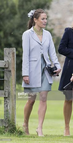 Jecca Craig attends the wedding of James Meade and Lady Laura Marsham at The Parish Church of St. Nicholas in Gaytonon September 14, 2013 in King's Lynn, England.