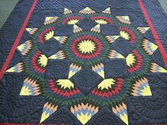An authentic Amish quilt.