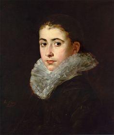 Portrait of a Young Woman  Eva Gonzales