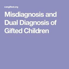 Supporting emotional needs of the gifted.