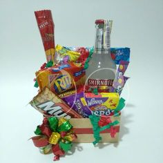 Ancheta con Smirnoff y snacks!