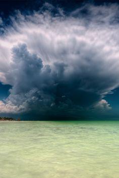 Cumulonimbus cloud ... celestiol:    KA-BOOOOOM! (Isla Mujeres, Quintana Roo, MX) | by Riccardo Maria Mantero