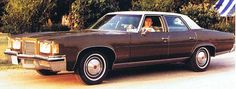 Pontiac Bonneville Sedan 1972