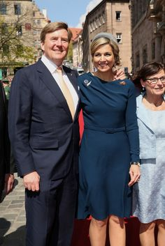 King Willem-Alexander And Queen Maxima Of The Netherlands Visit Bavaria – Day 2