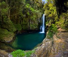 Kaiate Falls in Welcome Bay, Tauranga, New Zealand.  Photography by AEOS Photography