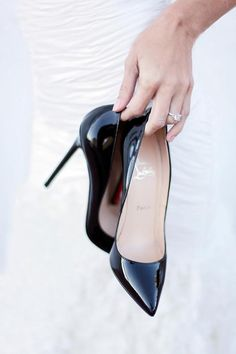 or the black ones - Christian Louboutin Pigalle