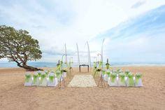 Wedding at the Sawangan beach, Kuta, Indonesia - wedding package from The Seven Agency - iBride.com