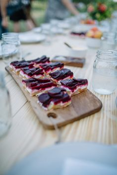beet and goat cheese terrine by Ottos German Bistro