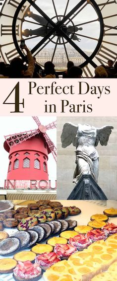 Perfect Paris 4 Day Itinerary | Pretty Prudent